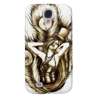 The Peacock Galaxy S4 Cover