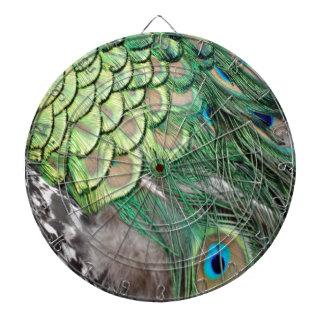 The Peacock Garden Dartboard