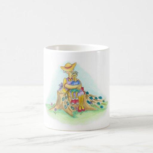 The Peacock Hug Mug
