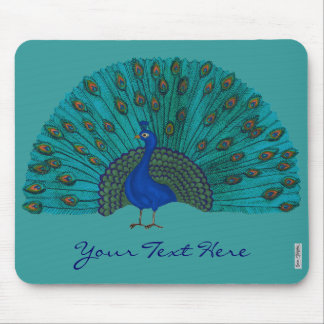The Peacock Mouse Pad
