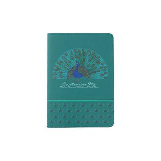 The Peacock Passport Holder