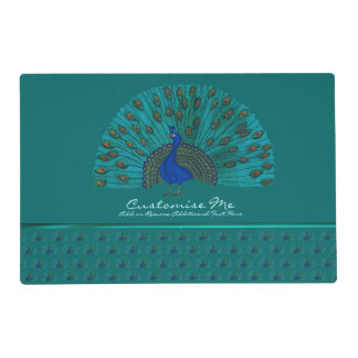 The Peacock Placemat