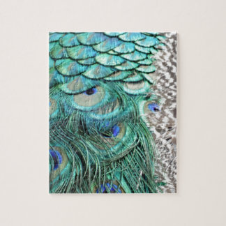 The Peacock Runner Jigsaw Puzzle