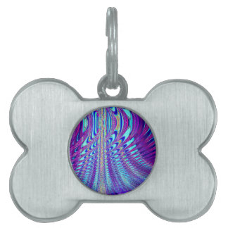 The Peacock's Wing Pet Tag