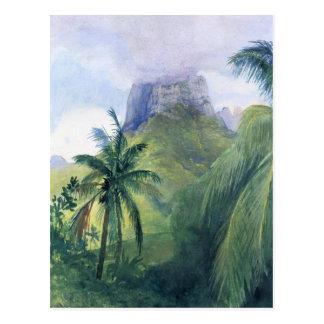 'The Peak of Mauna Roa' - John LaFarge Postcard