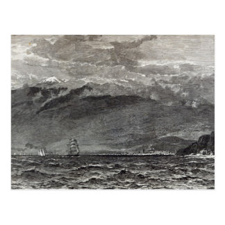The Peak of Teneriffe, Sante Cruz Postcard