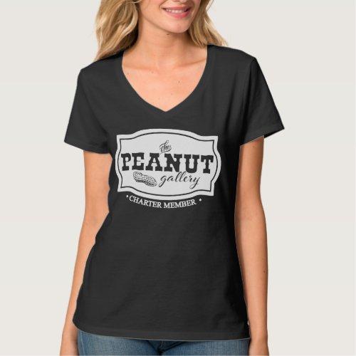 The Peanut Gallery Charter Member Cute T_Shirt