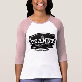 The Peanut Gallery, Charter Member, Raglan T-Shirt