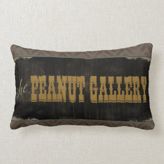 The Peanut Gallery Lumbar Pillow