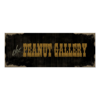 The Peanut Gallery Poster