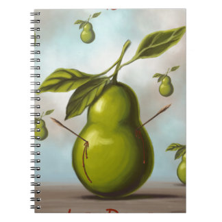 The pear notebook