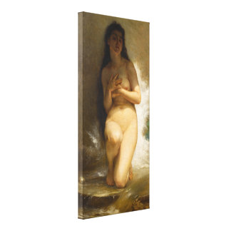 The Pearl by William-Adolphe Bouguereau Canvas Print