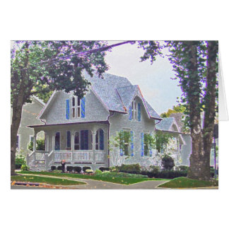 The Pearl Cottage Card