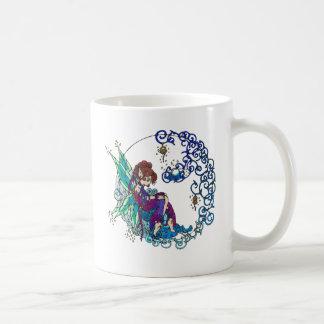 The Pearl Fairy in Blue and Purple Coffee Mug