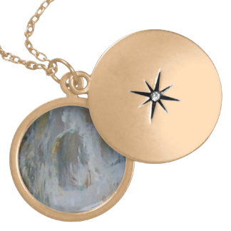 The Pearl Locket Necklace