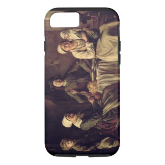 The Peasant Family, 1642 (oil on canvas) iPhone 8/7 Case