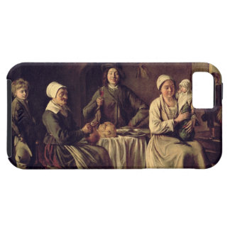 The Peasant Family, 1642 (oil on canvas) iPhone SE/5/5s Case