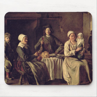 The Peasant Family, 1642 (oil on canvas) Mouse Pad