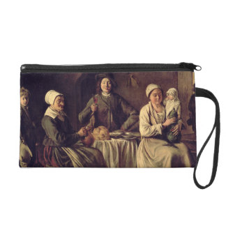 The Peasant Family, 1642 (oil on canvas) Wristlet