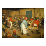 The Peasant Wedding - 1568 Greeting Cards