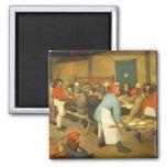The Peasant Wedding - 1568 Refrigerator Magnets