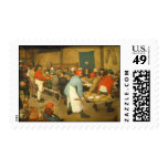 The Peasant Wedding - 1568 Stamps
