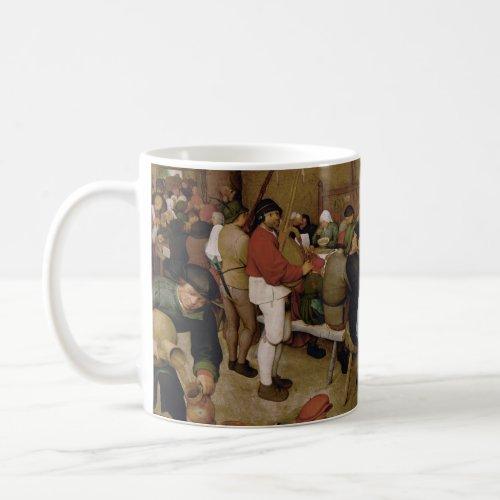 The Peasant Wedding by Pieter Bruegel the Elder Coffee Mug