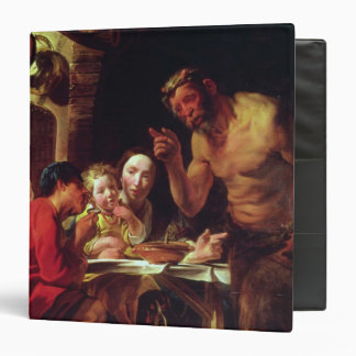 The Peasants and the Satyr 3 Ring Binder