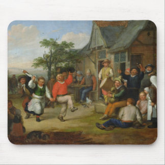 The Peasants' Dance, 1678 Mouse Pad