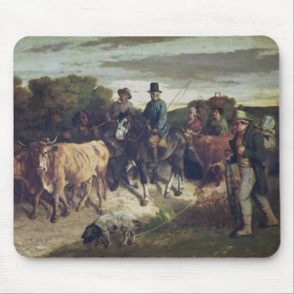 The Peasants of Flagey Returning from the Fair Mousepad
