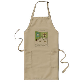 The Pecking Order Long Apron