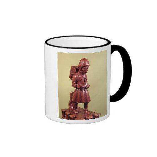 The Peddler of Swaffham, c.1462 Ringer Coffee Mug