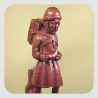 The Peddler of Swaffham, c.1462 Square Sticker