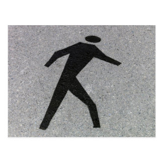 The Pedestrian (2) Postcard
