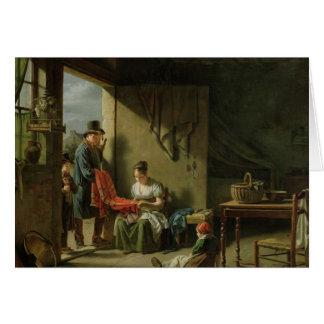 The Pedlar, 1812 Card