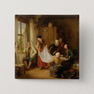 The Pedlar, 1814 (oil on panel) Button