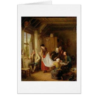 The Pedlar, 1814 (oil on panel) Card