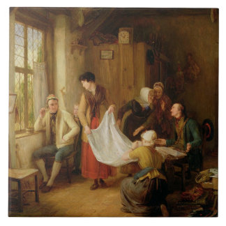The Pedlar, 1814 (oil on panel) Ceramic Tile