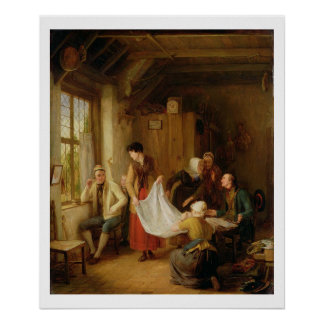 The Pedlar, 1814 (oil on panel) Poster