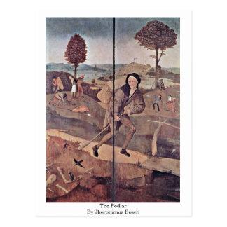 The Pedlar By Jheronimus Bosch Postcard