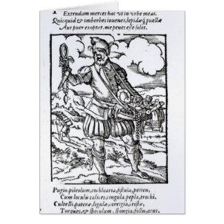 The Pedlar, published by Hartman Schopper Card