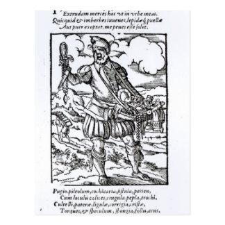 The Pedlar, published by Hartman Schopper Postcard