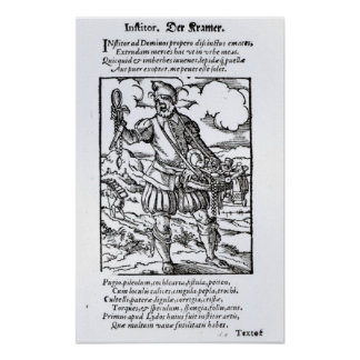 The Pedlar, published by Hartman Schopper Poster