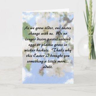 The Peep Show card