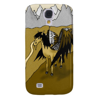 The Pegasus (Gold) Samsung S4 Case
