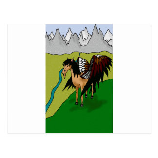 The Pegasus Postcard