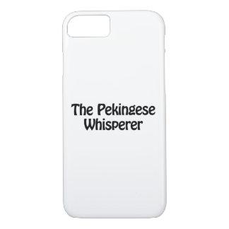 the pekingese whisperer iPhone 7 case