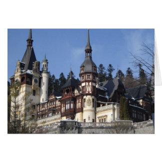 the Peles Castle Card