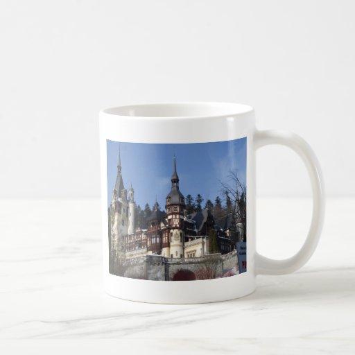 the Peles Castle Classic White Coffee Mug