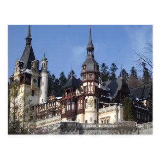 the Peles Castle Postcard
